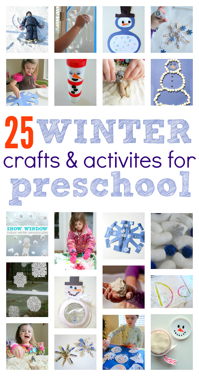 Best ideas about Winter Craft Ideas For Preschoolers . Save or Pin Winter Crafts and Activities For Preschoolers No Time Now.