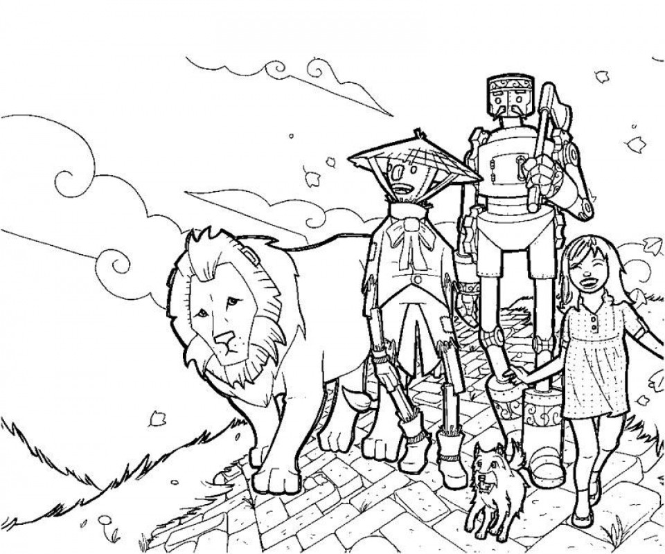 Best ideas about Wizard Of Oz Free Coloring Sheets . Save or Pin 20 Free Printable Wizard Oz Coloring Pages Now.