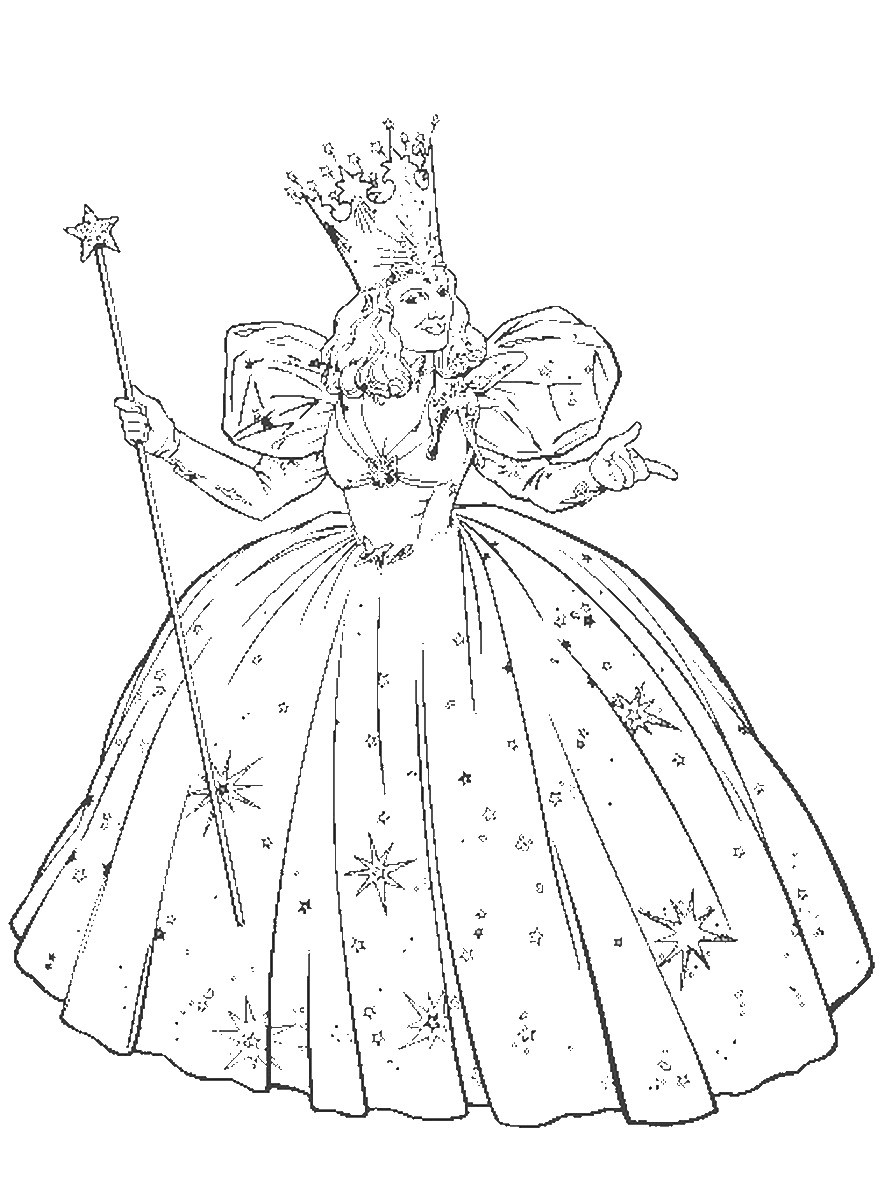Best ideas about Wizard Of Oz Free Coloring Sheets . Save or Pin Wizard of Oz Coloring Pages Now.
