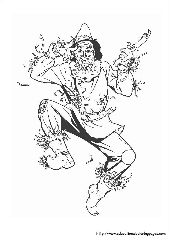 Best ideas about Wizard Of Oz Free Coloring Sheets . Save or Pin Wizard Oz Coloring Pages free For Kids Now.