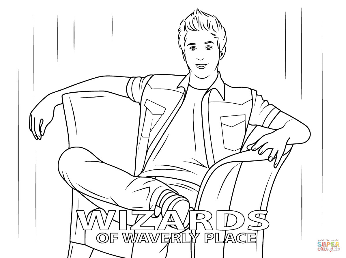 Wizards Of Waverly Place Printable Coloring Pages  Wizards of Waverly Place