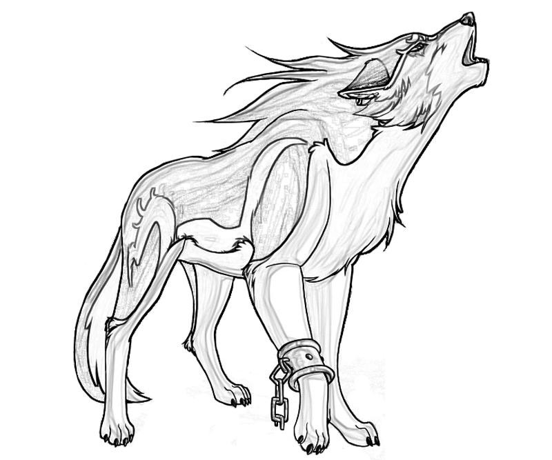 Wolf Coloring Pages  Free Printable Wolf Coloring Pages For Kids