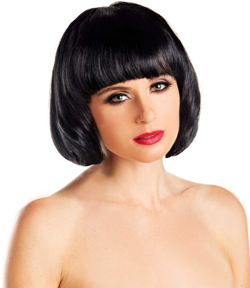 Women'S Bob Haircuts  Women s Bright Beautiful Solid Color Front Bangs Short Bob