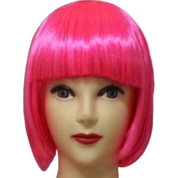 Women'S Bob Haircuts  Women s y Full Bangs Wig Synthetic Short Wig Straight