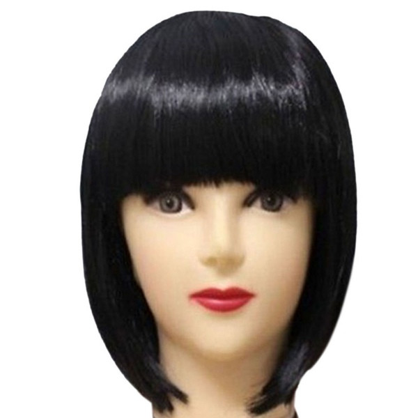 Women'S Bob Haircuts  Fashion Women s y Full Bangs Wig Short Wig Straight BOB