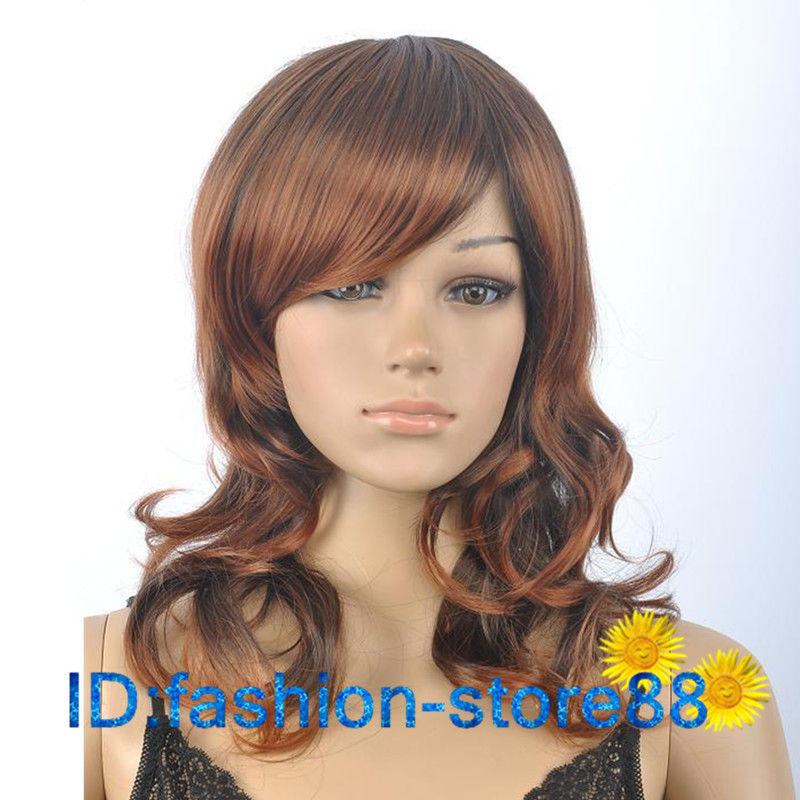 Best ideas about Women'S Medium Haircuts . Save or Pin La s fashion Curly mixed Brown Medium Natural Hair Women Now.