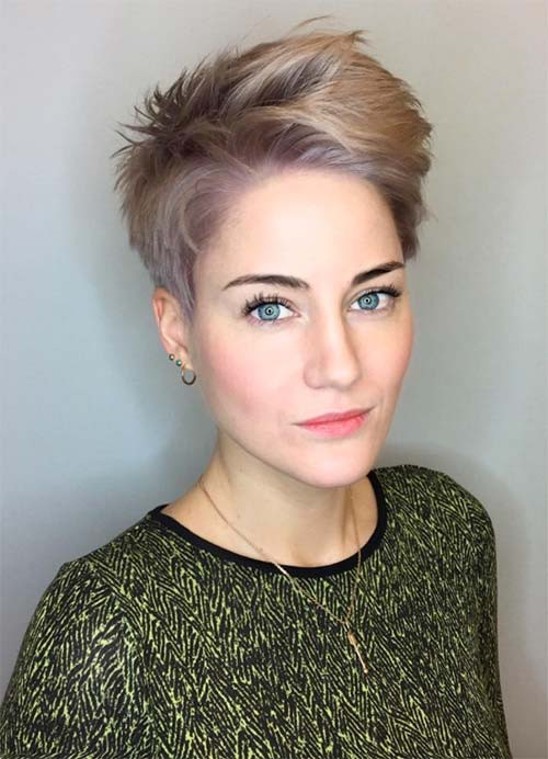Womens Short Haircuts For Thin Hair  55 Short Hairstyles for Women with Thin Hair