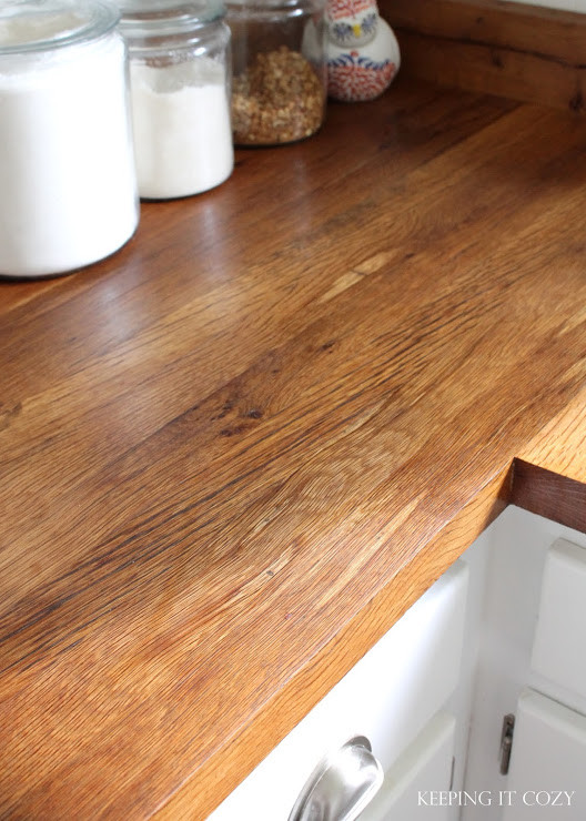 Wood Countertops DIY  Remodelaholic
