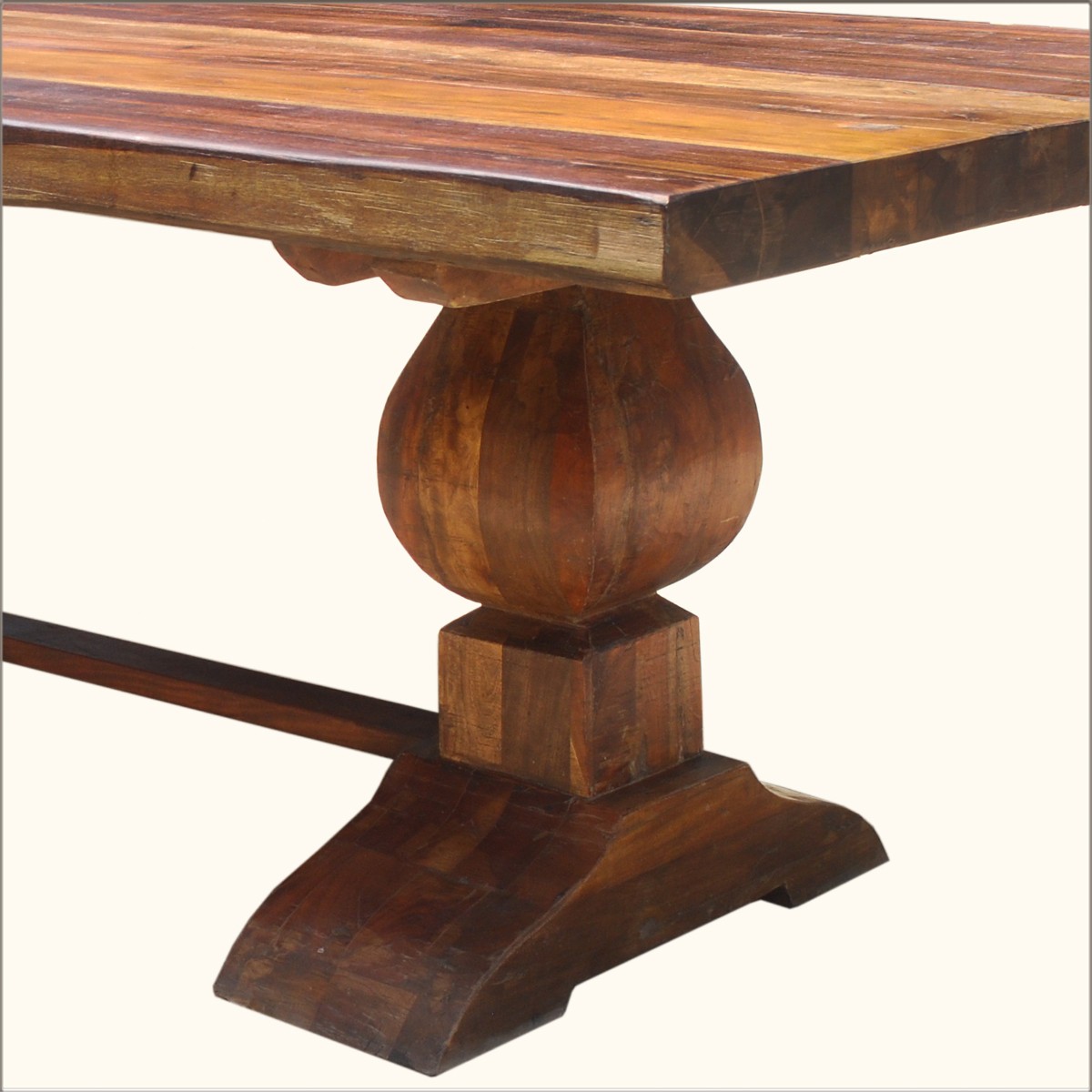 Best ideas about Wood Dining Table . Save or Pin Cool Reclaimed Wood Trestle Dining Table ALL ABOUT HOUSE Now.