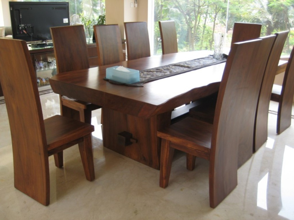 Best ideas about Wood Dining Table . Save or Pin Modern Dining Room Tables Solid Wood Now.