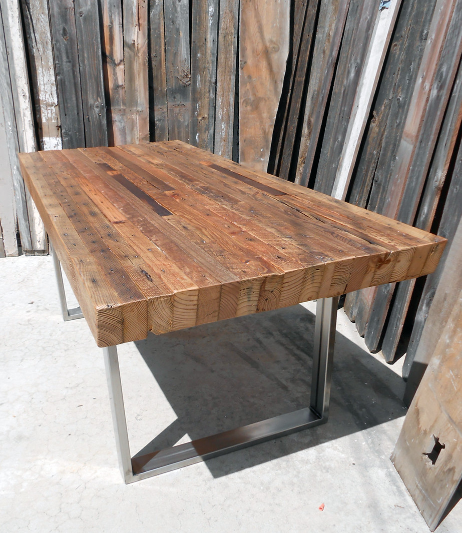 Best ideas about Wood Dining Table . Save or Pin 34 Incredbile Reclaimed Wood Dining Tables Now.