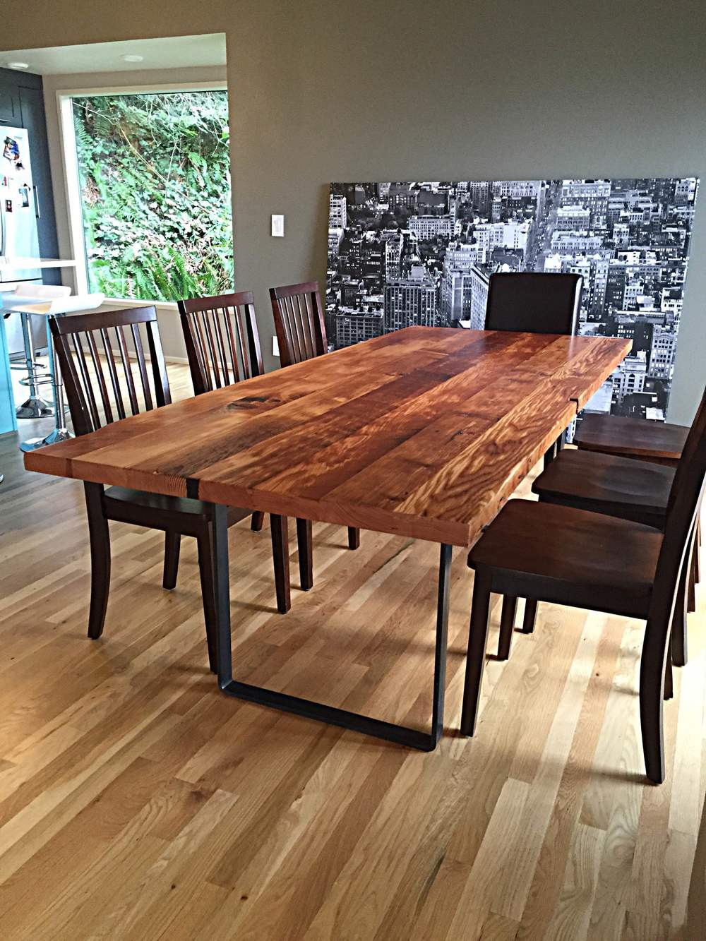 Best ideas about Wood Dining Table . Save or Pin Fremont Reclaimed Douglas Fir Dining Table — Stumptown Now.