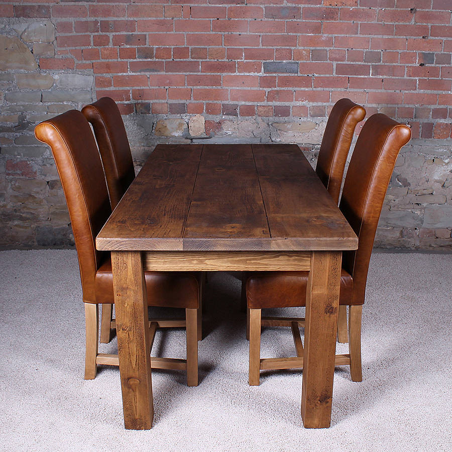 Best ideas about Wood Dining Table . Save or Pin solid wood dining table by h&f Now.
