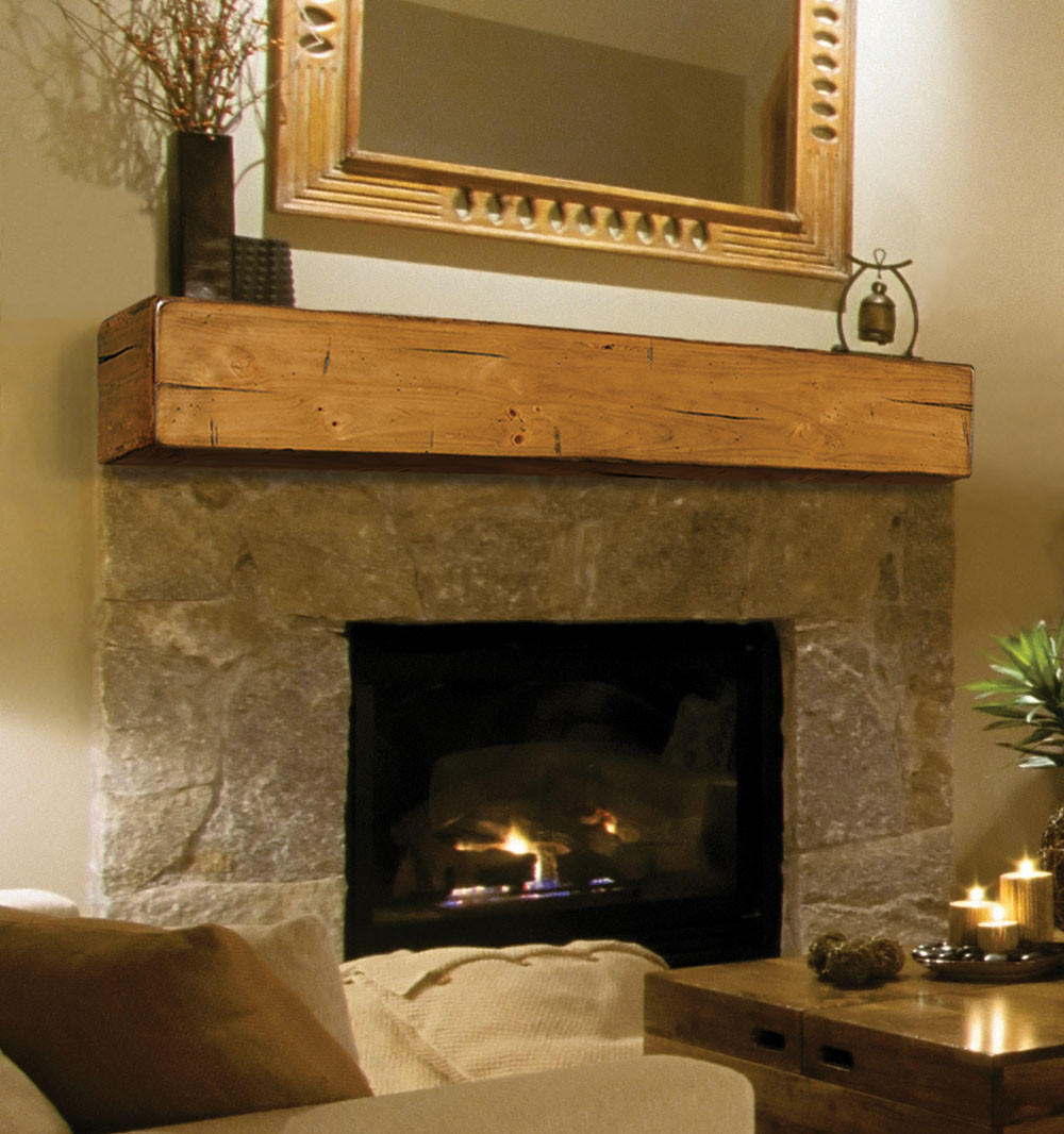 Best ideas about Wood Fireplace Mantels . Save or Pin Pearl Mantels 496 Lexington Wooden Fireplace Mantel Shelf Now.