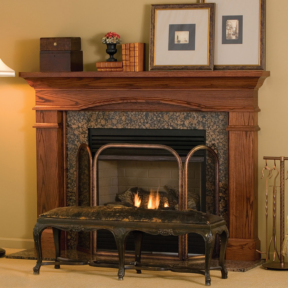 Best ideas about Wood Fireplace Mantels . Save or Pin Hawthorne Traditional Wood Fireplace Mantel Surrounds Now.