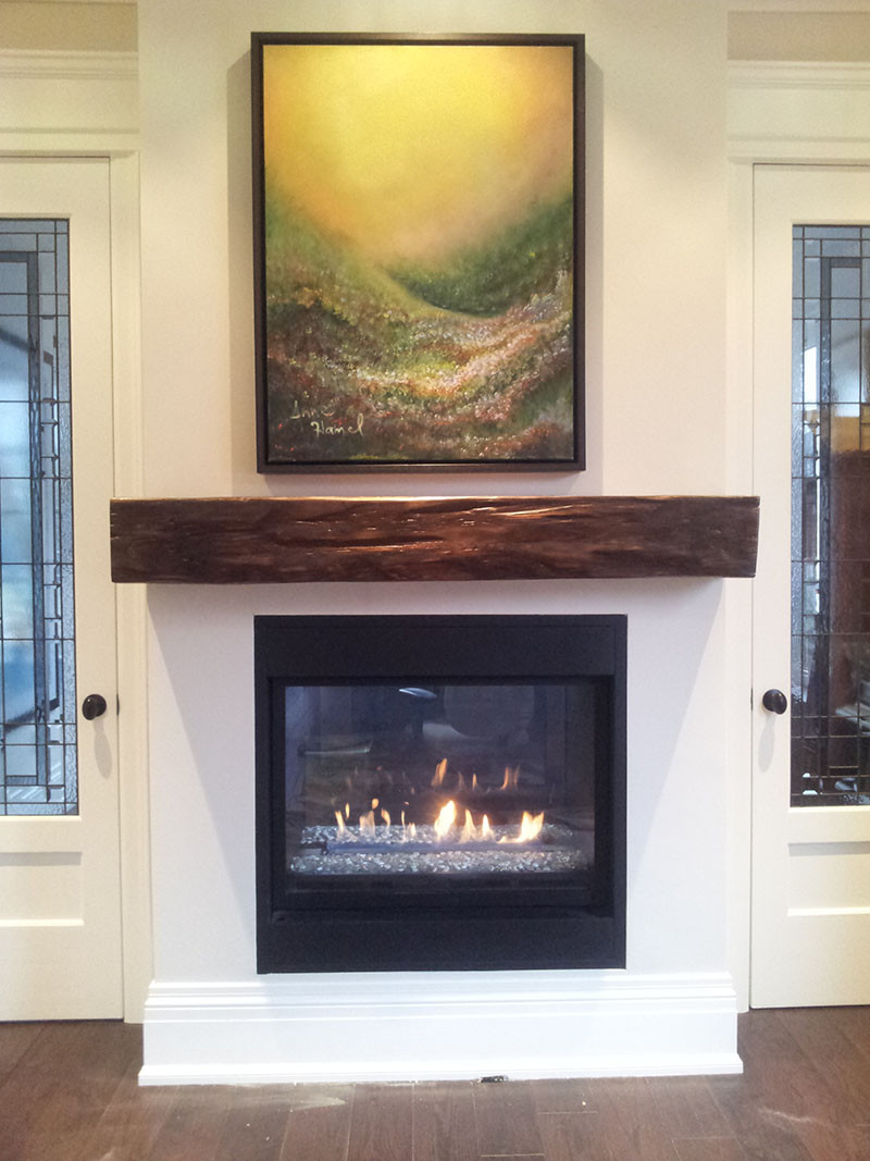 Best ideas about Wood Fireplace Mantels . Save or Pin Reclaimed Wood Mantels for A Rustic or Antique Fireplace Now.