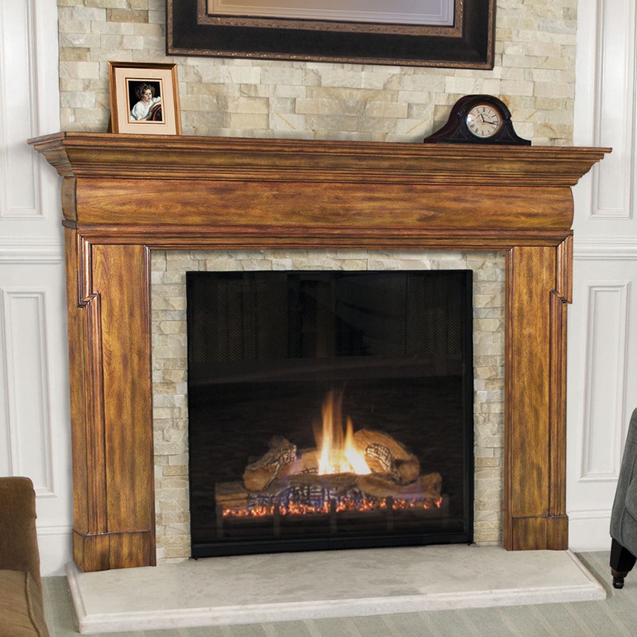 Best ideas about Wood Fireplace Mantels . Save or Pin Wood Mantels Fireplace Surrounds and Shelving Now.