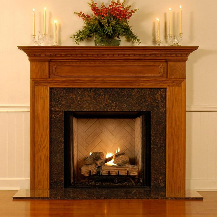 Best ideas about Wood Fireplace Mantels . Save or Pin Fireplace Mantel Designs Keeping the Space Warmth with Now.