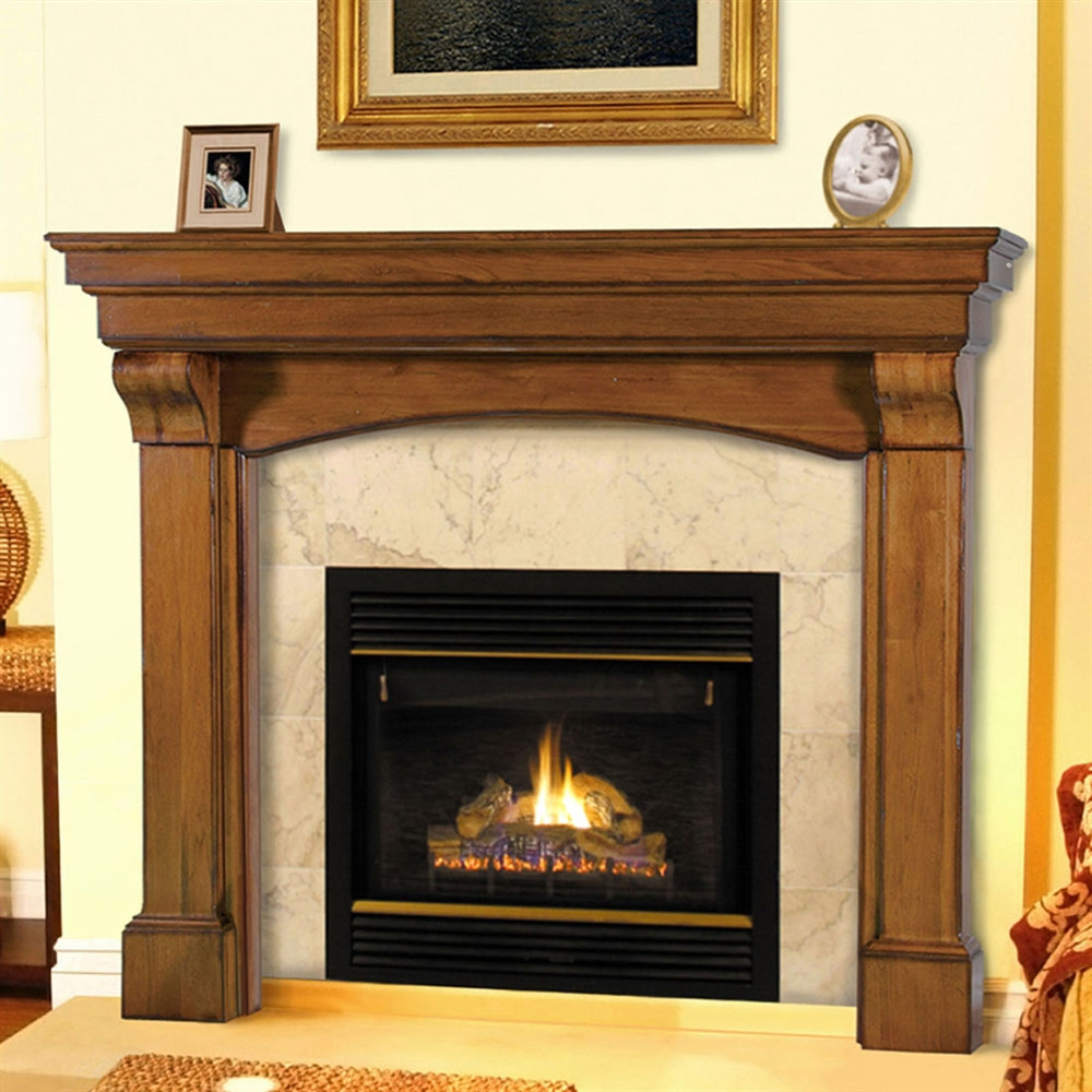 Best ideas about Wood Fireplace Mantels . Save or Pin Fireplaceinsert Pearl Mantels Blue Ridge Fireplace Now.