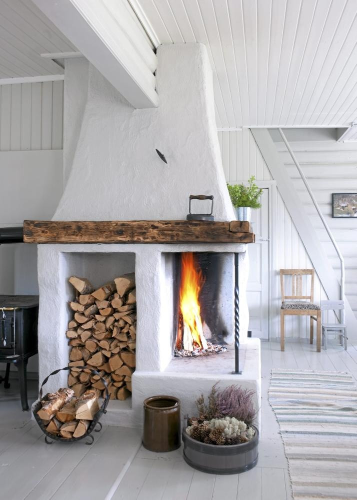 Best ideas about Wood For Fireplace . Save or Pin 25 Cool Firewood Storage Designs For Modern Homes Now.
