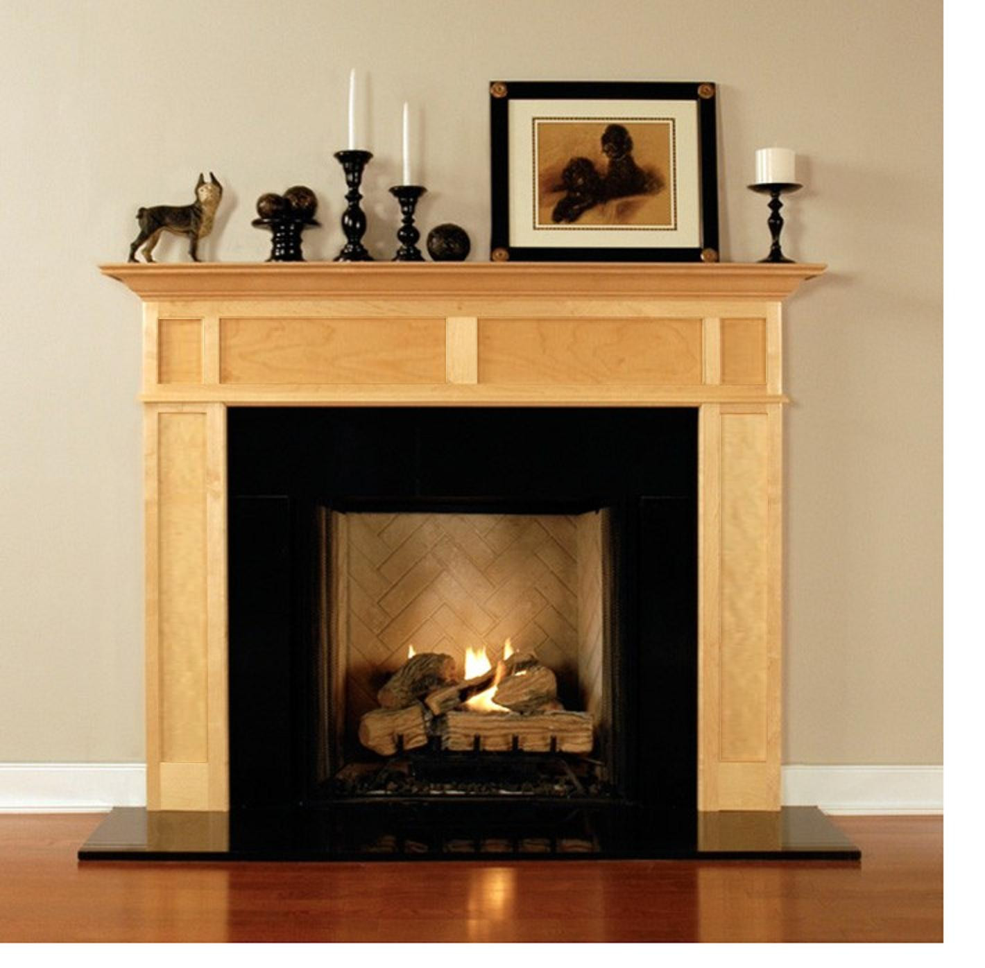 Best ideas about Wood For Fireplace . Save or Pin Wood Fireplace Mantels for Fireplaces Surrounds Now.