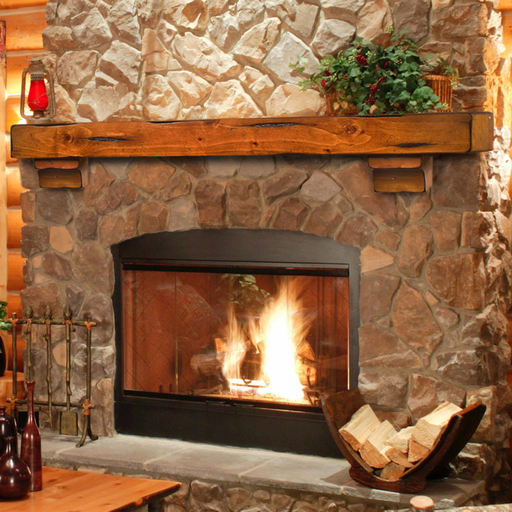Best ideas about Wood For Fireplace . Save or Pin Breckenridge 48 Inch Wood Fireplace Mantel Shelf Now.
