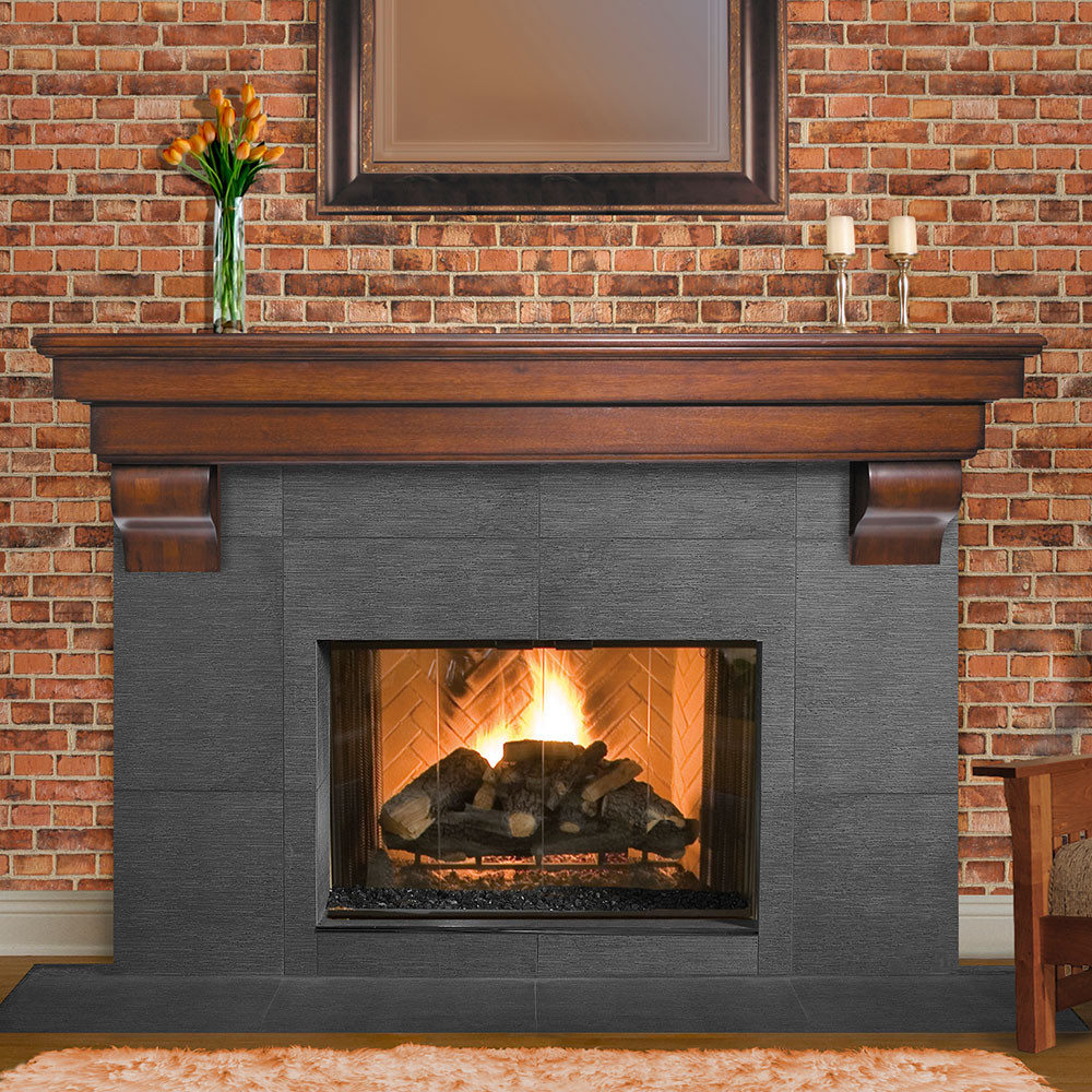 Best ideas about Wood For Fireplace . Save or Pin Salem Wood Mantel Shelves Fireplace Mantel Shelf Now.