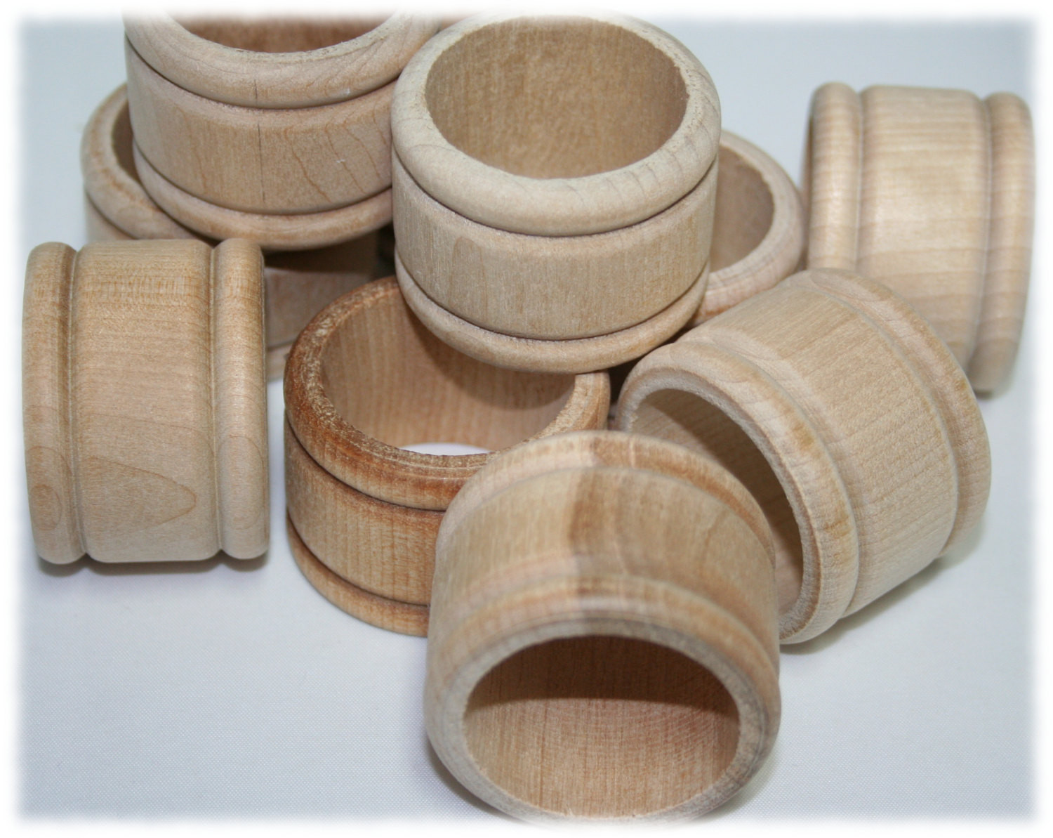 Best ideas about Wood Ring DIY . Save or Pin 100 Wood Napkin Ring Holder Unfinished Wood Napkin Ring Now.