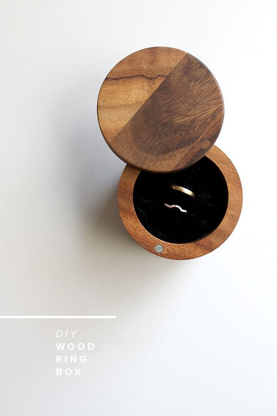 Best ideas about Wood Ring DIY . Save or Pin 21 DIY Ring Boxes That Will Beautify and Add Romance To a Now.