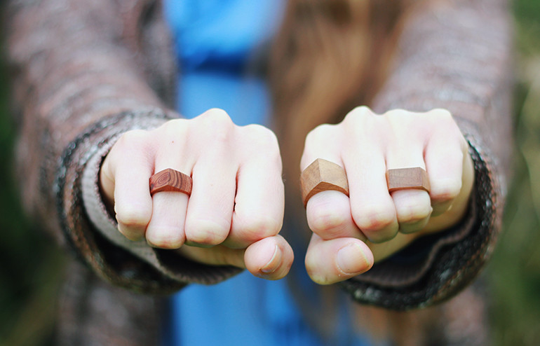 Best ideas about Wood Ring DIY . Save or Pin Simple Wooden Rings The Merrythought Now.
