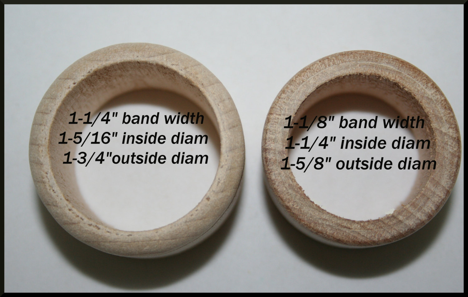 Best ideas about Wood Ring DIY . Save or Pin Wood Napkin Ring Holder Unfinished Wood Napkin Ring Now.