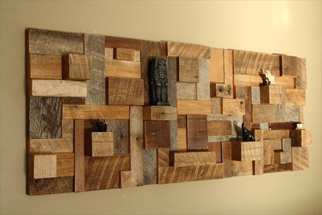 Best ideas about Wood Wall Art . Save or Pin 12 Cool DIY Wood Project Ideas Now.