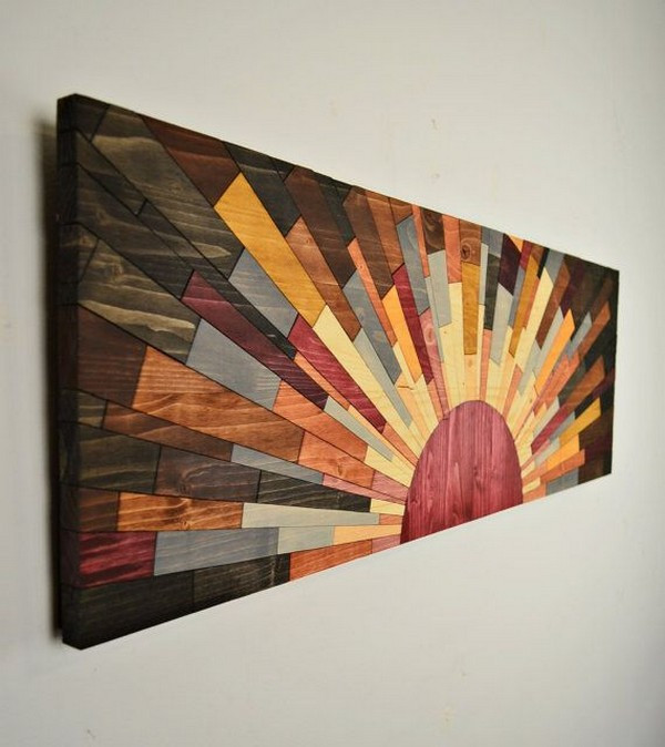 Best ideas about Wood Wall Art . Save or Pin DIY Wall Decorations That Can Change Your Home Look • DIY Now.