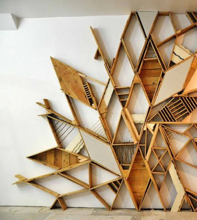Best ideas about Wood Wall Art . Save or Pin Stunning Pallet Wall Art Ideas Now.