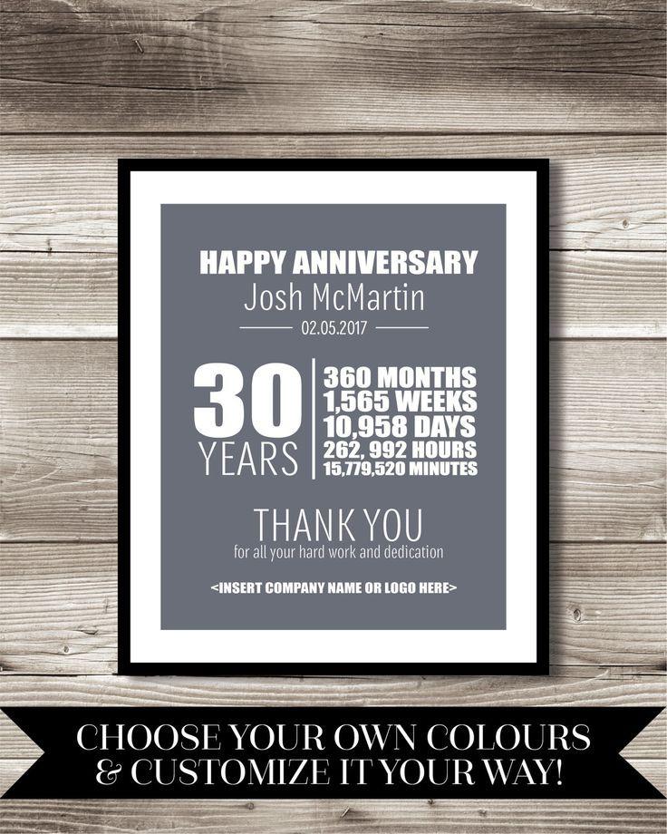 Work Anniversary Gift Ideas  Best 25 Work anniversary ideas on Pinterest