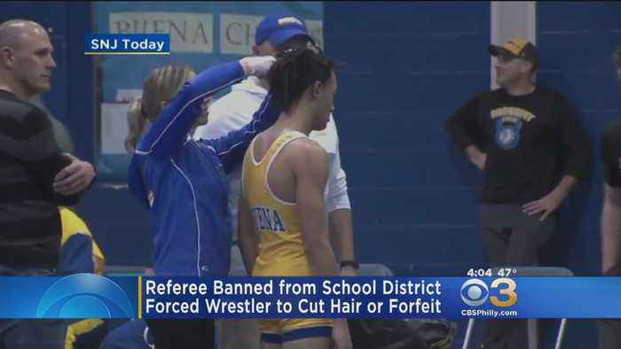 Wrestler Forced To Cut Hair  New Jersey Referee Banned After Wrestler Forced e News