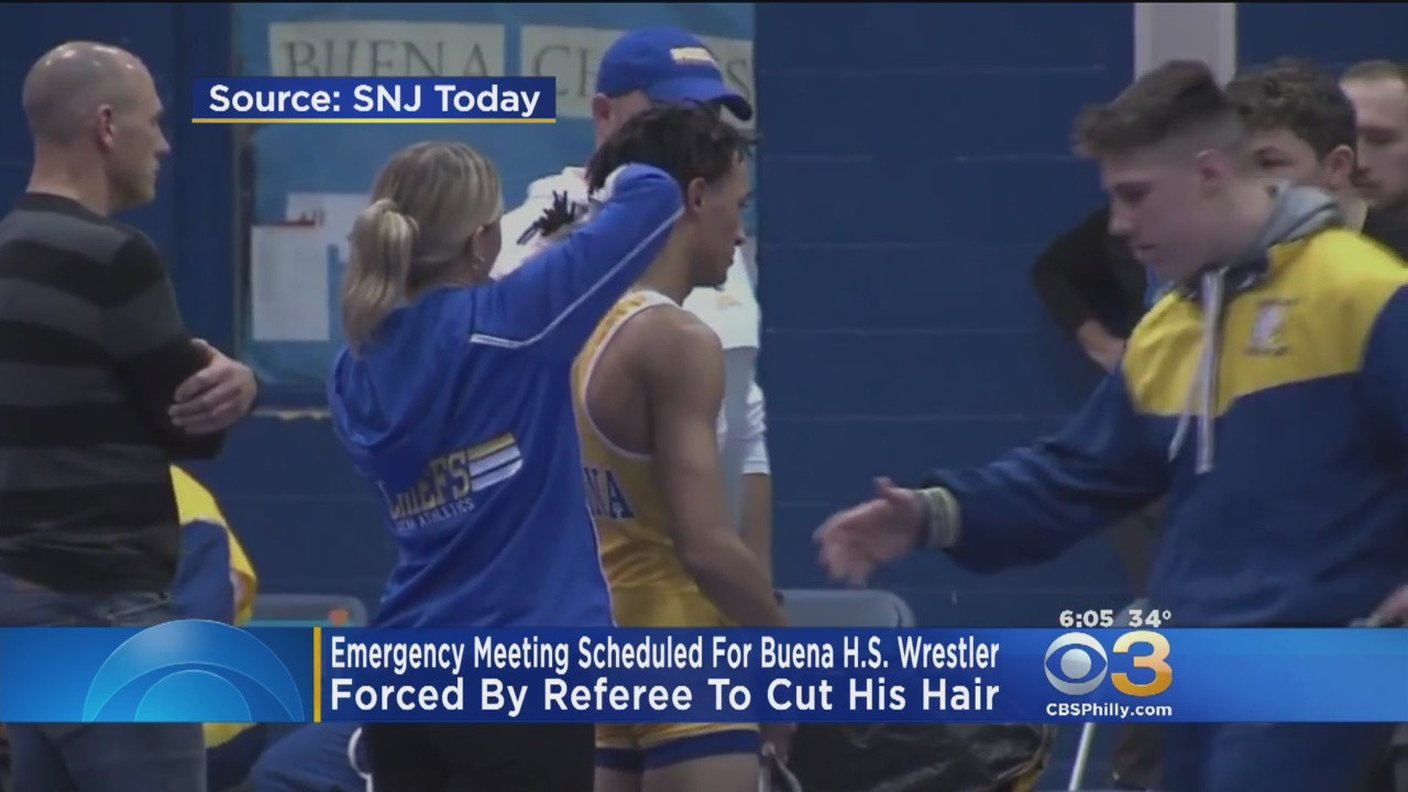 Wrestler Forced To Cut Hair  ficials Plan Emergency Meeting To Discuss NJ Wrestler
