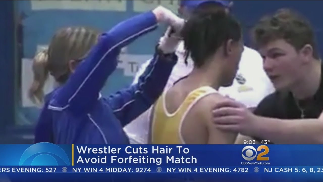 Wrestler Forced To Cut Hair  Outrage After Student Wrestler Forced To Have Dreadlocks