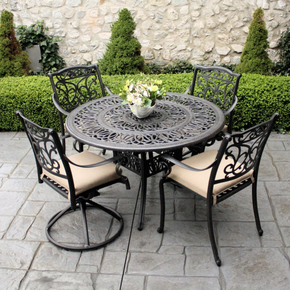 Best ideas about Wrought Iron Patio Furniture . Save or Pin Furniture Rod Iron Patio Set Patio Design Ideas Wrought Now.