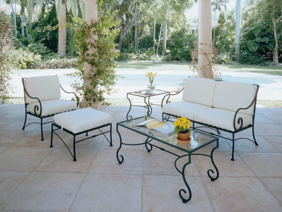Best ideas about Wrought Iron Patio Furniture . Save or Pin Furniture Wrought Iron Patio Furniture Pros And Cons Now.