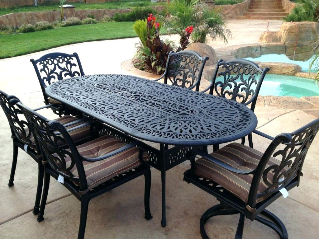 Best ideas about Wrought Iron Patio Furniture . Save or Pin Wrought Iron Benches a Note of Luxury in Landscape Now.