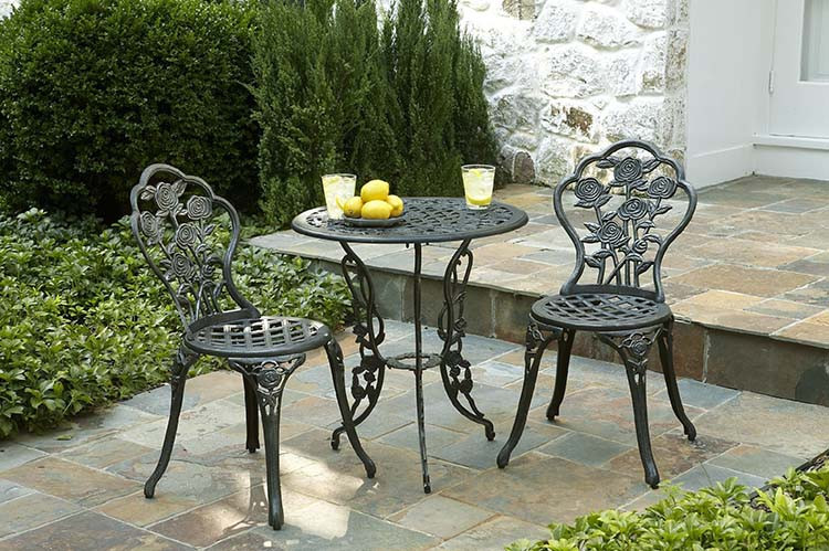 Best ideas about Wrought Iron Patio Furniture . Save or Pin Wrought iron outdoor furniture for that exquisite look Now.