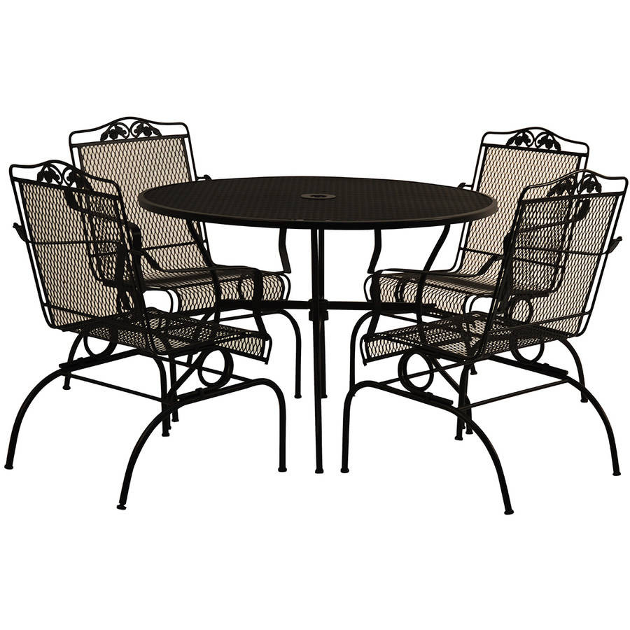 Best ideas about Wrought Iron Patio Furniture . Save or Pin Furniture Arlington House Wrought Iron Chair Walmart Now.