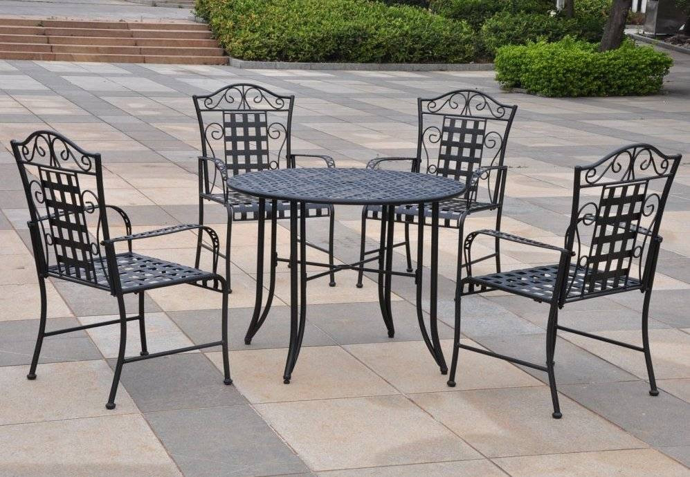 Best ideas about Wrought Iron Patio Furniture . Save or Pin 13 Awesome Wrought Iron Furniture Products line Now.