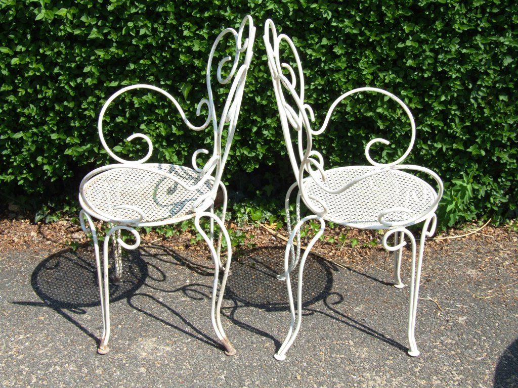 Best ideas about Wrought Iron Patio Furniture . Save or Pin Popular Vintage Wrought Iron Patio Furniture Now.