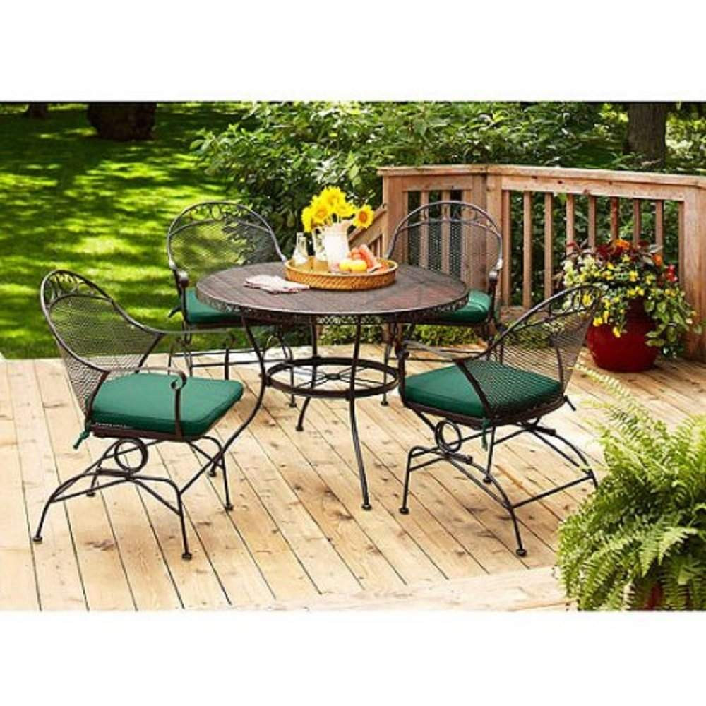 Best ideas about Wrought Iron Patio Furniture . Save or Pin Top 10 Best Wrought Iron Patio Furniture Sets & Pieces Now.