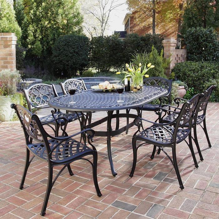 Best ideas about Wrought Iron Patio Furniture . Save or Pin Wrought Iron Patio Furniture Iron Patio Table Now.