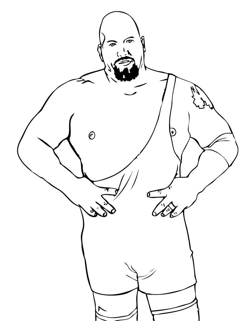 Wwe Printable Coloring Pages  Free Printable WWE Coloring Pages For Kids