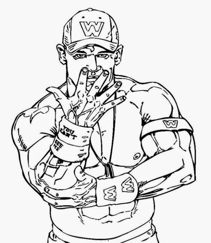 Wwe Printable Coloring Pages  wwe coloring pages rey mysterio Gianfreda