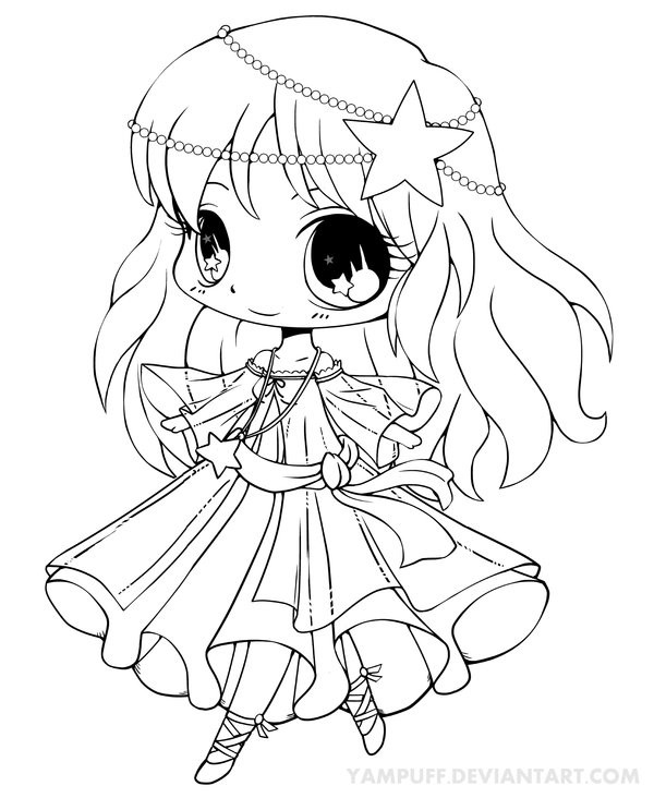Yampuff Coloring Pages  Kasumi Art Trade Lineart by YamPuff on DeviantArt